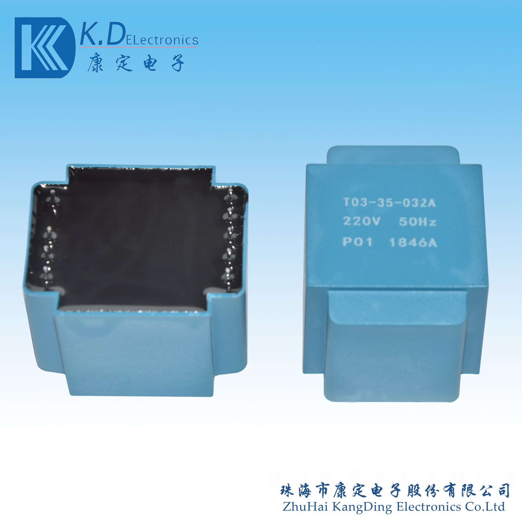 Low-frequency transformer T03-35-032A